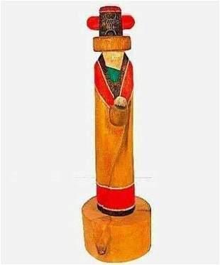 Native American HOPI Kachina Zuni Maiden by Sterling