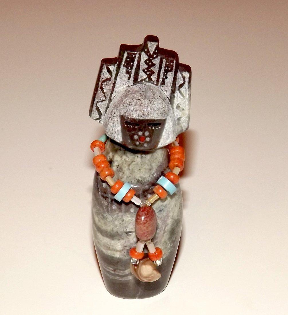 Native American ISLETA Fetish. Hand Carved Andy Albeita