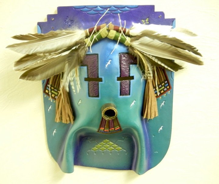 NAVAJO Ceremonial Mask. Rare