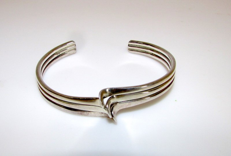 Mexican Sterling Silver Taxco Bracelet