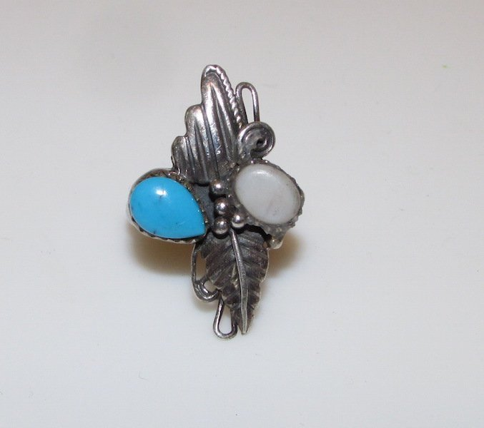 Old Pawn Navajo Sterling Ring