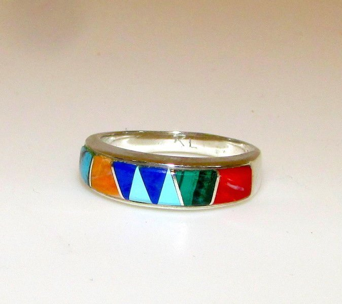 Native American Calvin Begay Ring
