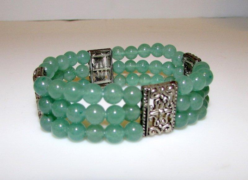 Green Jade Jadeite Bracelet