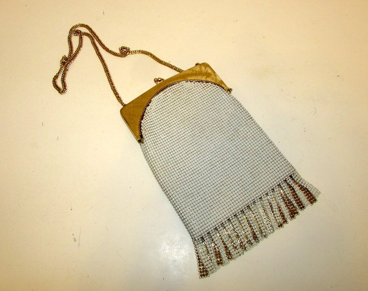 1920S Whiting and Davis Mesh Evening Purse