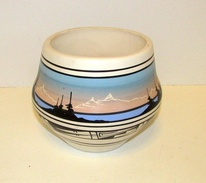 Vintage Navajo Large Cedar Mesa Pottery