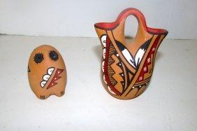 Native American Jemez Pueblo A. Armijo Pottery