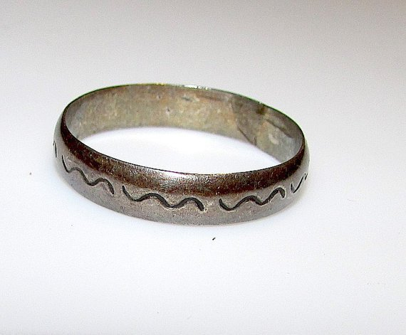 Native American Navajo Old Pawn Sterling Silver 925