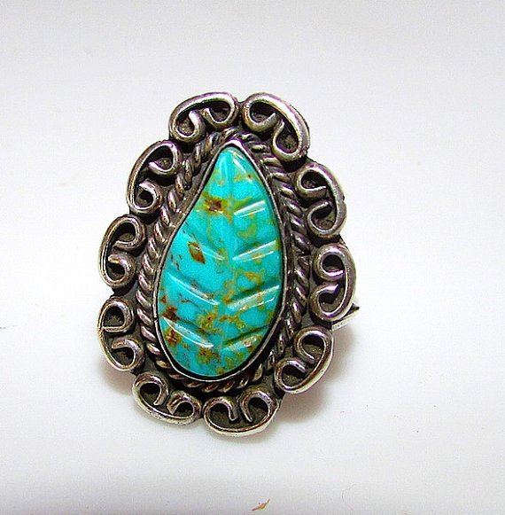 Vintage Old Pawn Native American Zuni Sterling Silver
