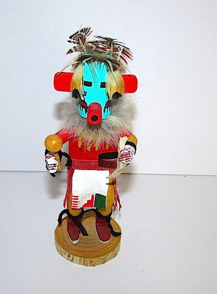 Vintage Morning Singer Kachina Doll