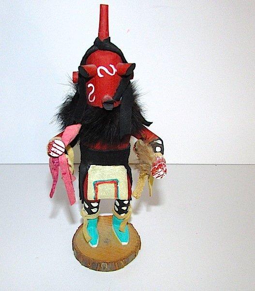 Vintage Native American Mudhead Kachina Doll