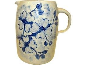 CASEY POTTERY Hand Turned Large Water Jug Pitcher