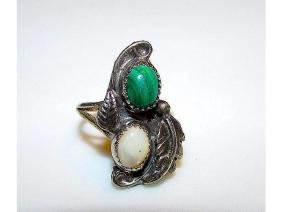 Native American Navajo Old Pawn Sterling Silver