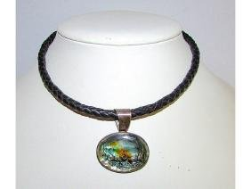Vintage ATI Mexico Sterling Silver 925 Abalone Shell