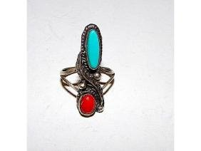 Navajo Old Pawn Native American Sterling Silver