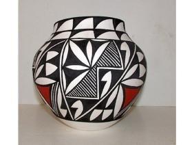 Vintage ACOMA Pueblo Collector Pottery D Antonio Signed