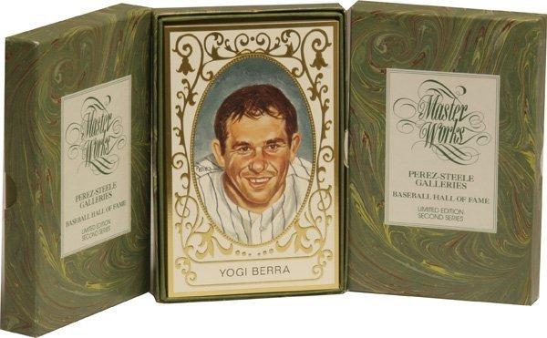 5: Lot 3 Perez Steele Baseball Cards.