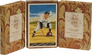 Lot 3 Masterworks Baseball Cards.