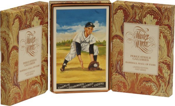 6: Lot 3 Masterworks Baseball Cards.