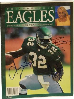 Philadelphia Eagles Team Yearbook.