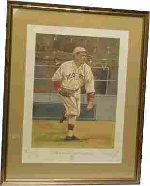 Babe Ruth Perez Steel Artist Proof.