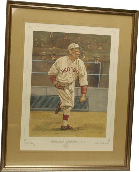 15: Babe Ruth Perez Steel Artist Proof.