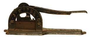 Brown's Mule Cigar Cutter.