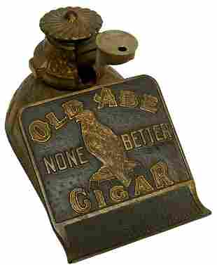 Old Abe Cigar Cutter.