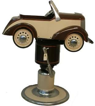 Gartons Pedal Car Barberchair.