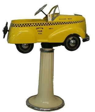 Garton Cab Pedal Car Barber Chair.