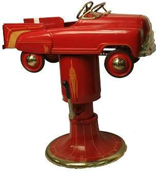 Pedal Car Barber Chair.