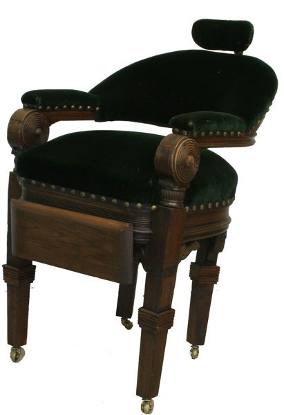 317: Early Barber Chair.