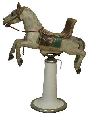 Carousel Horse Child's Barber Chair.