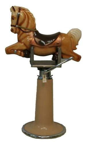 Star Rocking Horse Barber Chair.
