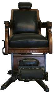325: Archer Barber Chair.