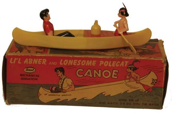 7: Li'l Abner Canoe.
