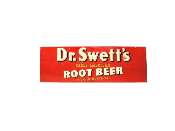 4: Dr. Swett's Tin Sign.