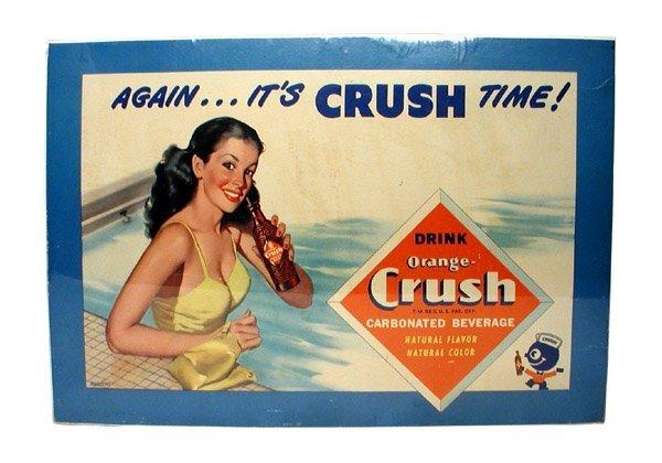 6: Orange Crush Sign.