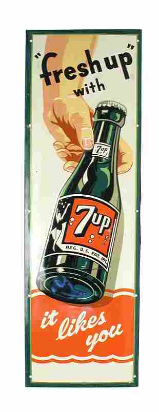 7-Up Sign.