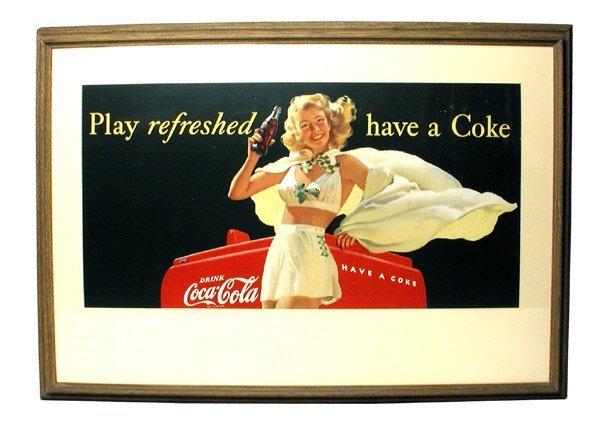9: Coca Cola Sign.