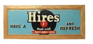 Hire's Root Beer Sign.