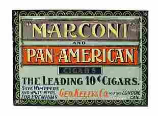 Dargai Cigar Tin Sign.