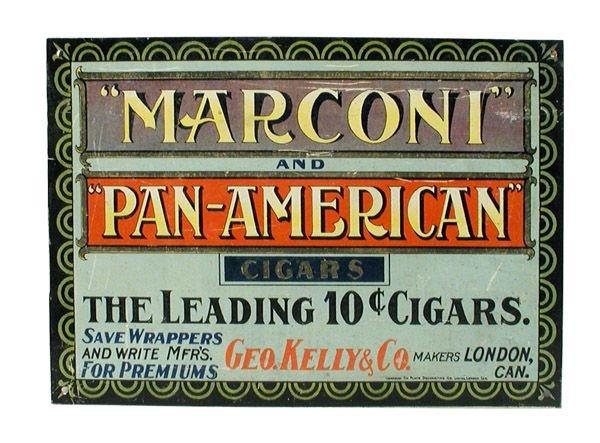 13: Dargai Cigar Tin Sign.