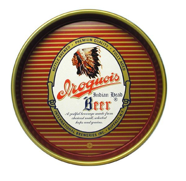 20: International Brewery Serving Tray.