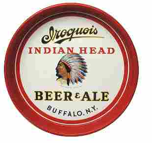 Iroquois Beer Serving Tray.