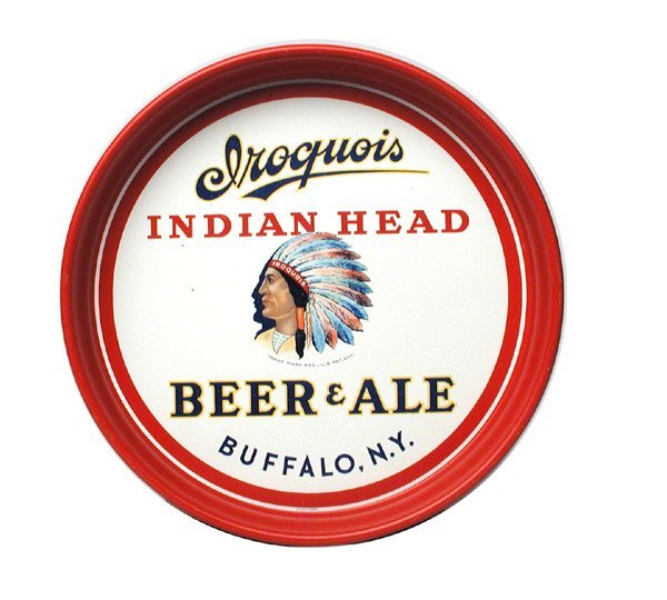 24: Iroquois Beer Serving Tray.