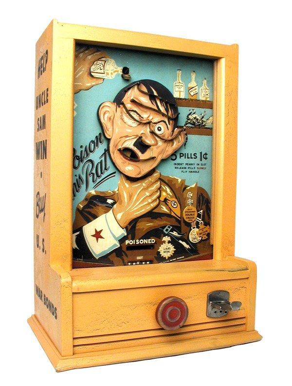 """125: Hitler """"Kill the Rat"""" Game."""