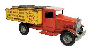 Metalcraft Shell Motor Oil Truck.