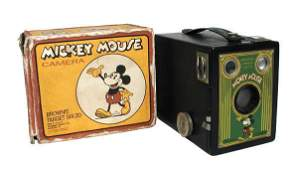 115: Mickey Mouse Brownie Target Camera.