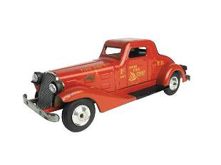 Marx Siren Fire Chief Car.