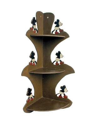 Mickey Mouse Corner Shelf.